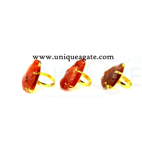 red-carnelian-adjustable-arrowhead-rings