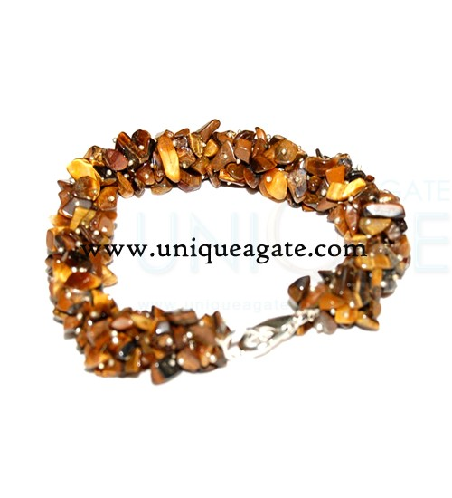 tiger-eye-string-bracelets