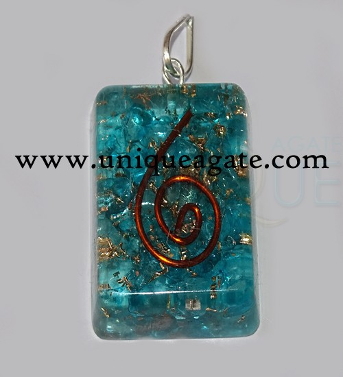 Orgone Rectangle Pendants