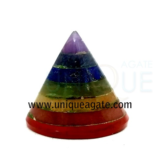 Chakra-Bonded-Conical-Pyram