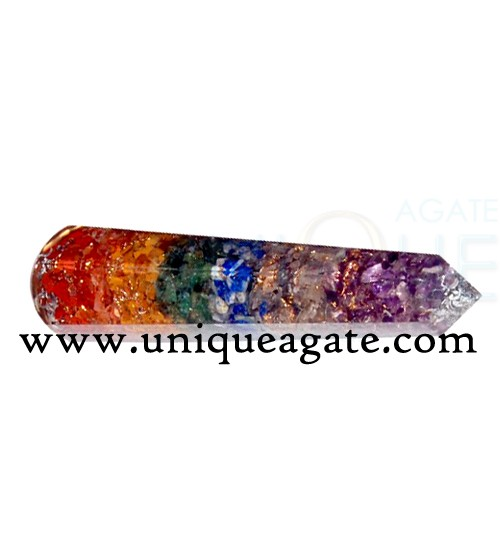 Orgone Energy Faceted Massage Wands