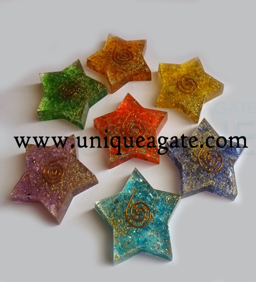 Orgonite Pentagram Star