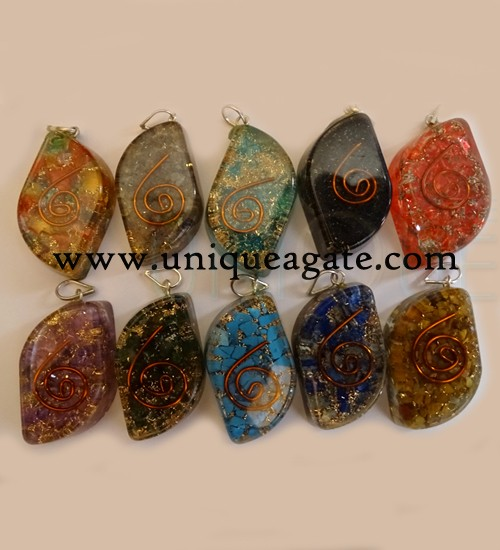 Orgone Eye Pendants