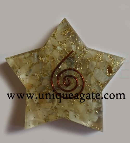 Moonstone-Orgonite-Pentagra