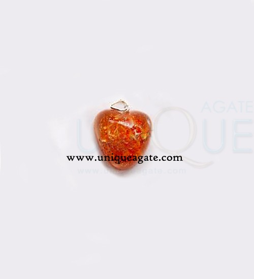 Orange-Orgone-Heart-Pendant