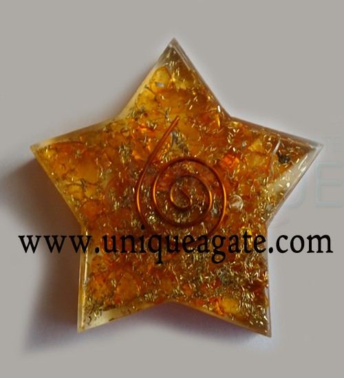 Orange-Orgonite-Pentagram-S
