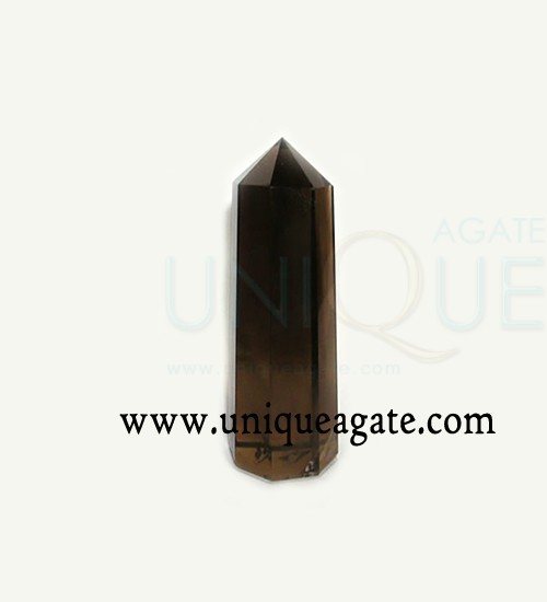 Smoky-Quartz-Tower