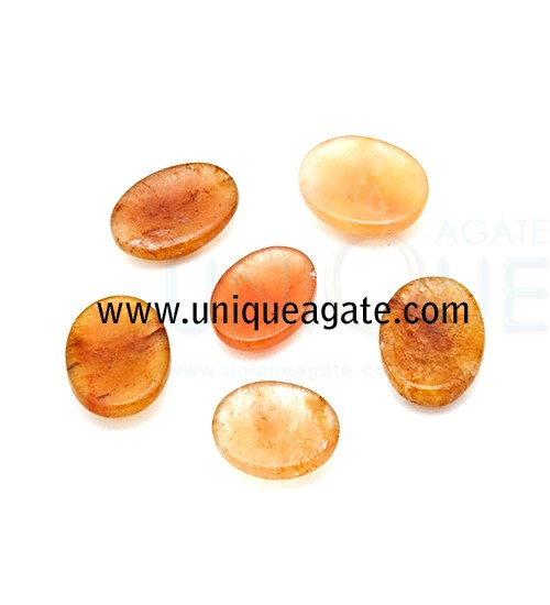 Golden-Quartz-Worry-Stones