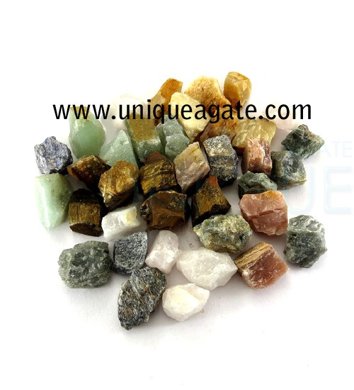 Raw Gemstone Chunks