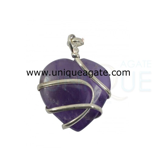 Amethyst-Cage-Wrapped-Heart