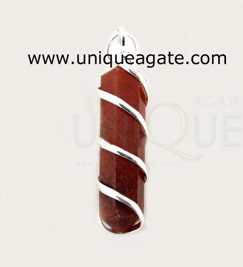Red-Jasper-Cage-Wrapped-Pen