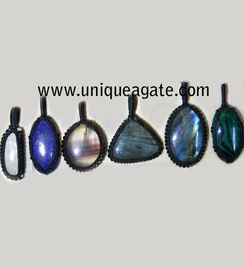 Tibetian-Netted-Pendants
