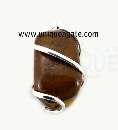 Tiger-Eye-Agate-Cage-Wire-W