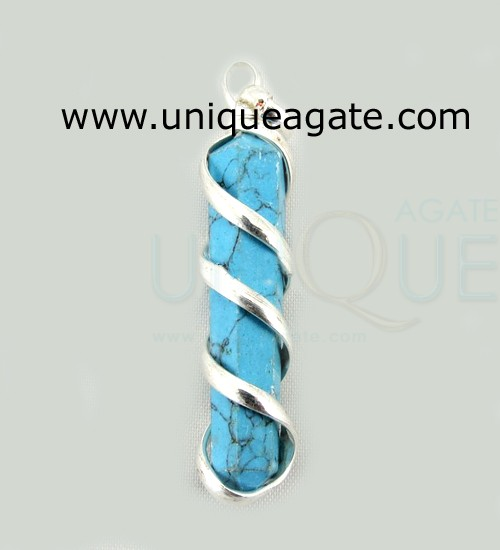 Turquoise-Cage-Wrapped-Penc