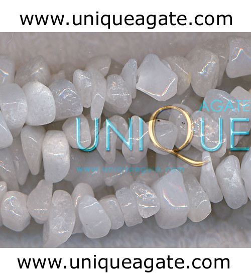 White-Agate-Chips