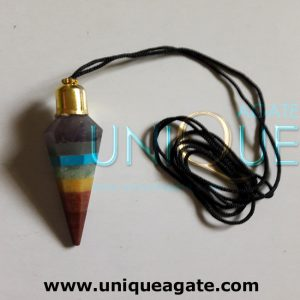 Chakra-Bonded-Cone-Necklace