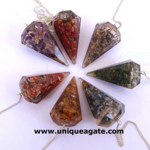 Assorted-Orgone-Cone-Pendul