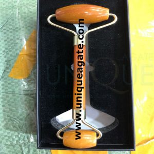 Golden-Quartz-Massage-Rolle