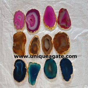 Assoted-Agate-Golden-Border