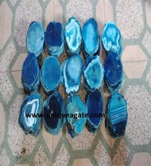 Blue Gemstone Coaster