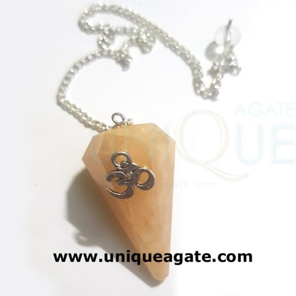 Golden-Quartz-Om