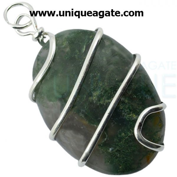 moss_agate_wire_wrapped_oval_shape_pendant_2