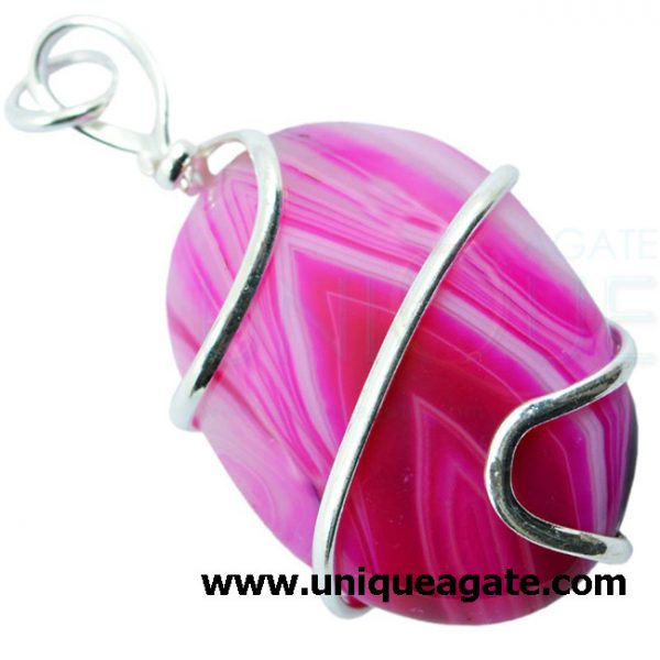 pink_onyx_wire_wrapped_oval_shape_pendant_2