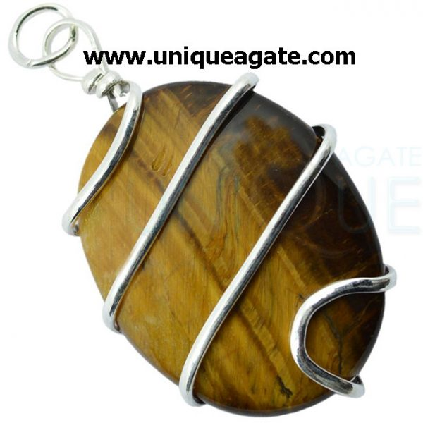 tiger_eye_wire_wrapped_oval_shape_pendant_2