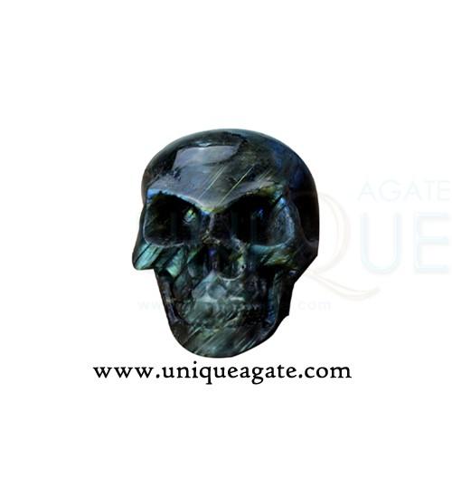 Labradorite-Skulls