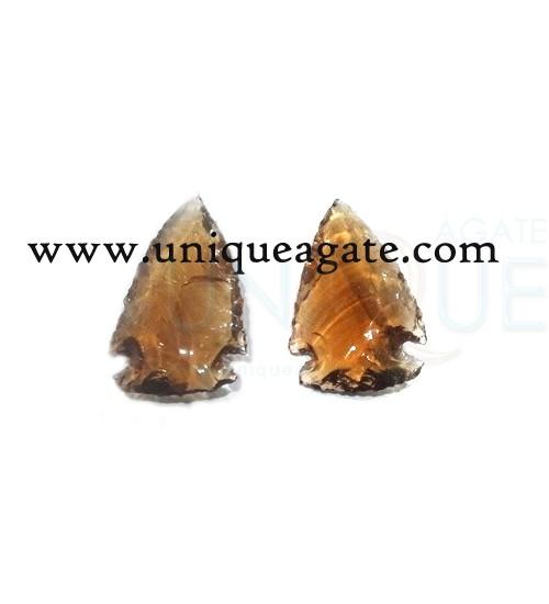 Brown-Colour-Glass-Arrowhea