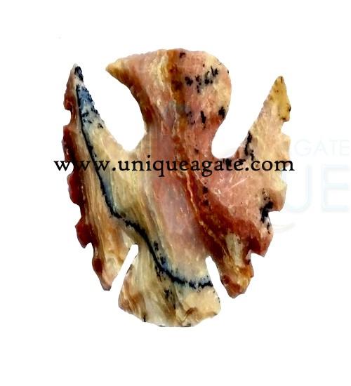 Carved-Eagle-Shaped-Arrowhe