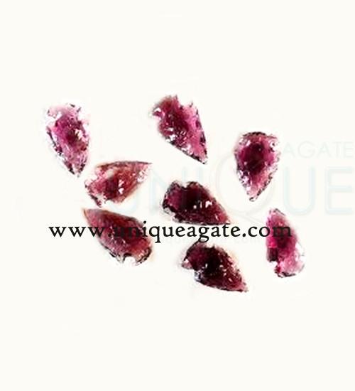Magenta-Colour-Glass-Arrowheads