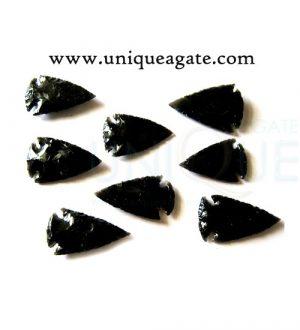 1inch-Black-Obsidian-Arrowheads