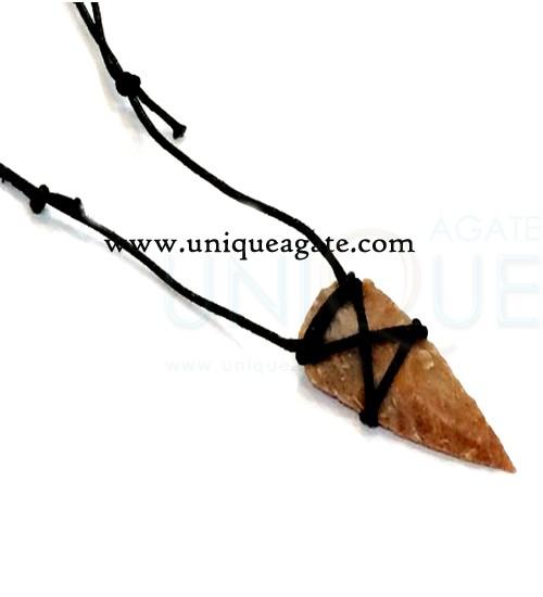 Tribal-Arrowhead-Necklace