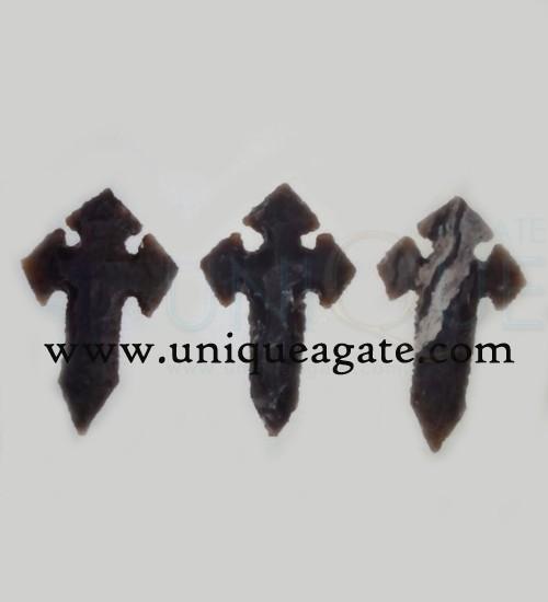 Cross-Shape-Arrowheads