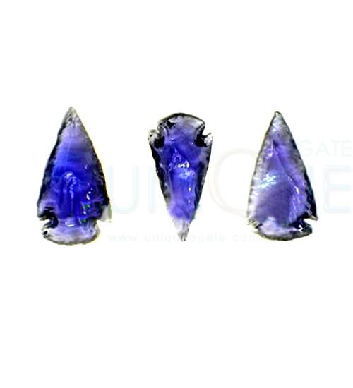 Purple-Glass-1inch-Arrowhea