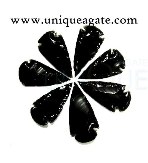 Black-Obsidian-4inch-Arrowh