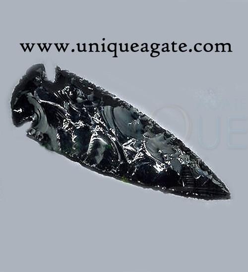 standard-arrowheads Black Obsidian