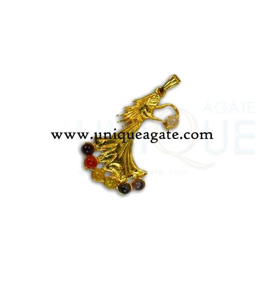 chakra-angel-golden-pendant