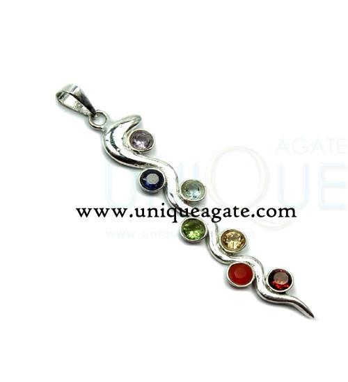 chakra-feather-pendant