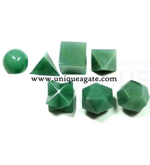 green-aventurine-7pcs-geome