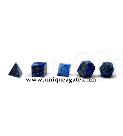 lapiz-lazuli-5pcs-geometry