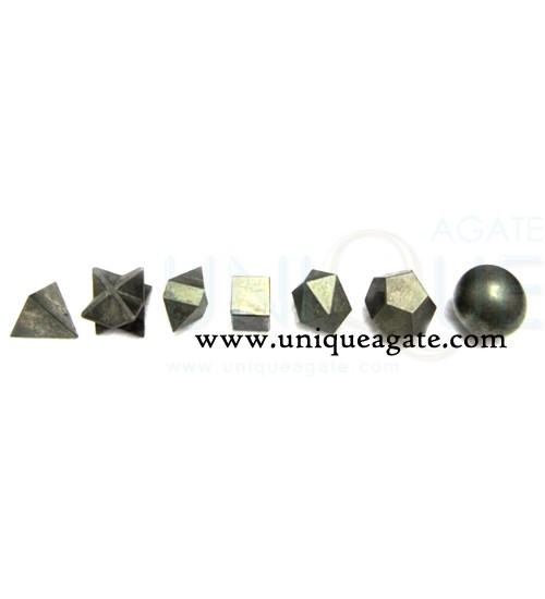 pyrite-7pcs-geometry-set