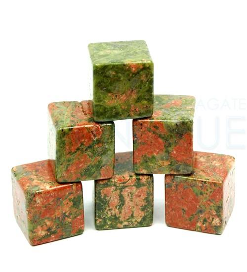 unakite-cubes