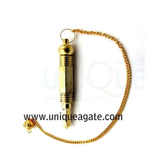 3-Pc-Metal-Pendulum-Gold-Fi