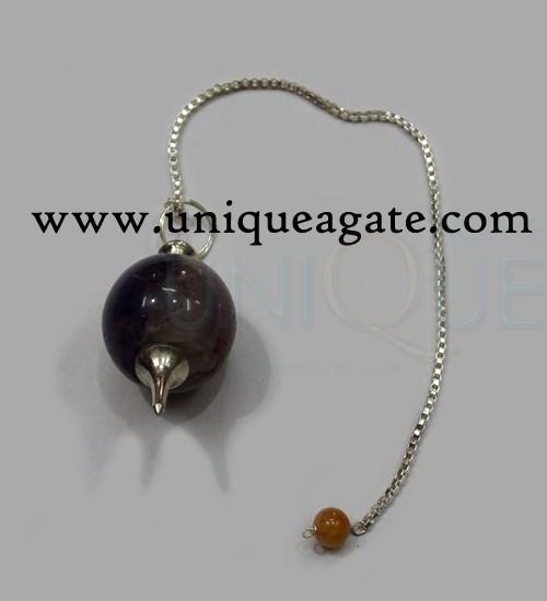 Amethyst-Ball-Pendulum