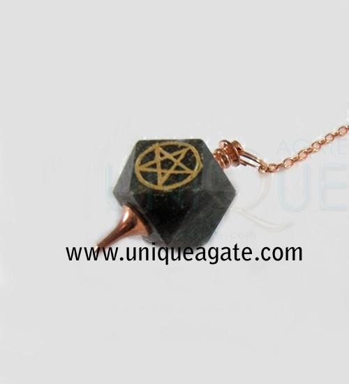 Amethyst-Hexagone-Pentagram