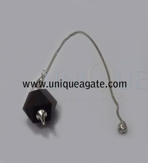 Black-Agate-Carved-Shape-Pe