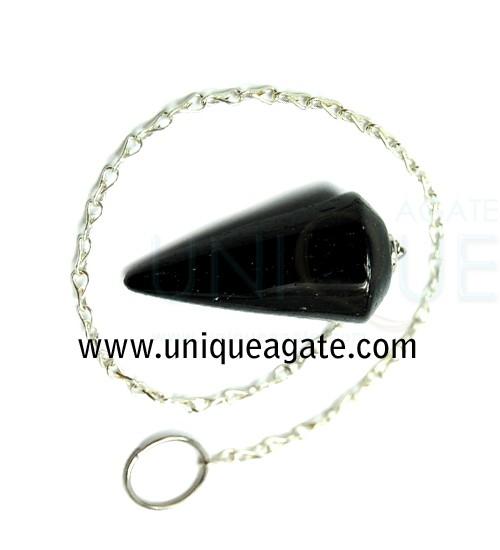 Black-Tourmaline-Cone-Pendu