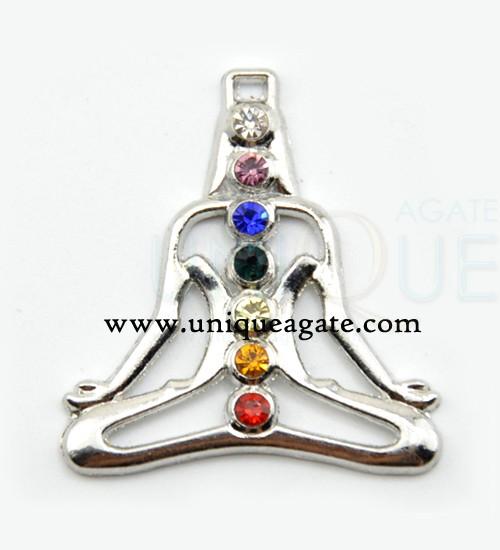 Chakra Metal Pendants